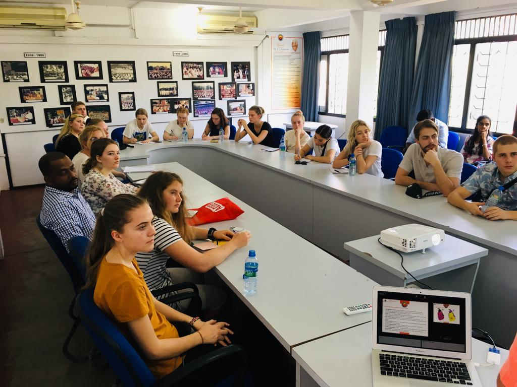University of Agder- Norway : Exposure Programme for First Year Undergraduate Students on Sarvodaya's approach to Community Development