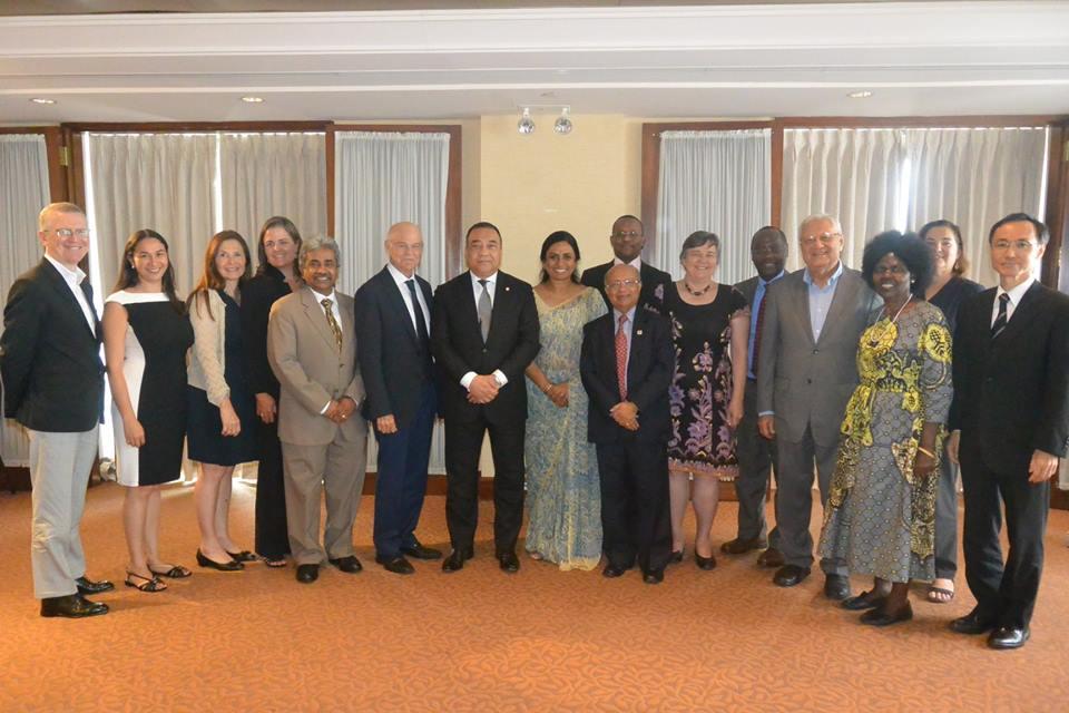 Dr Vinya Ariyaratne – Director General attends the First Advisory Group Meeting of Arigatou International