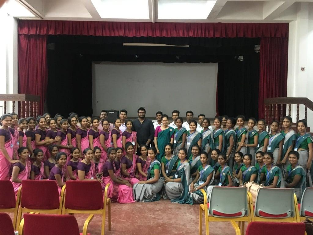 Sarvodaya's Integral Community Development Work and Public Health Initiatives : Nursing Students from NIHS Kalutara