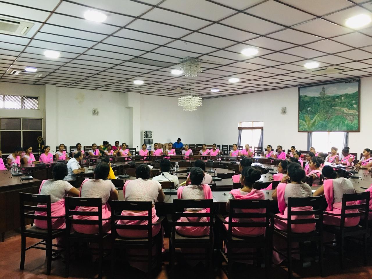 Sarvodaya's Public Health Initiatives and Community Development : Seminar