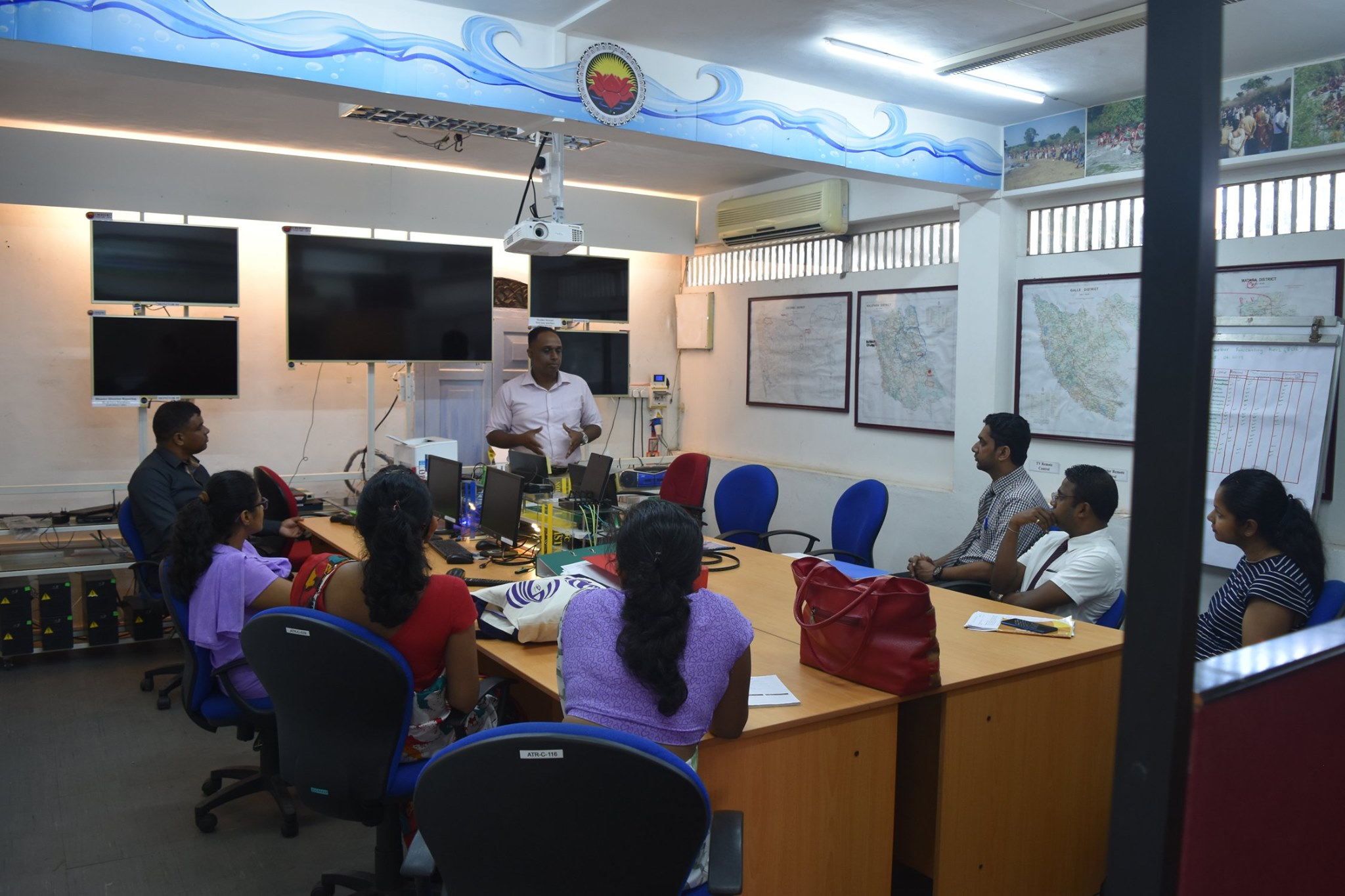 Sarvodaya's Public Health Initiatives Seminar for MSc Community Medicine Medical Professionals attached to the National Insitute of Health Sciences, Kalutara