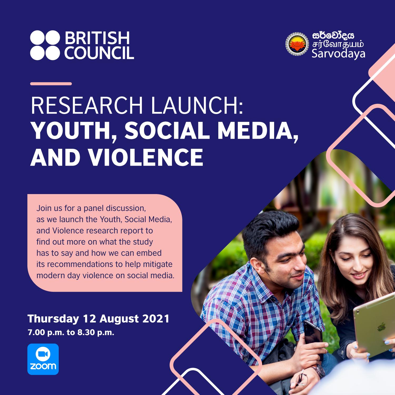 Virtual Event: Youth, Social media & Violence